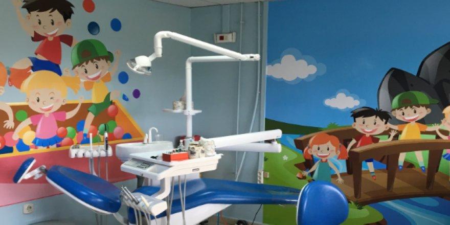 Darıca ADSM'de çocuk kliniği renklendi