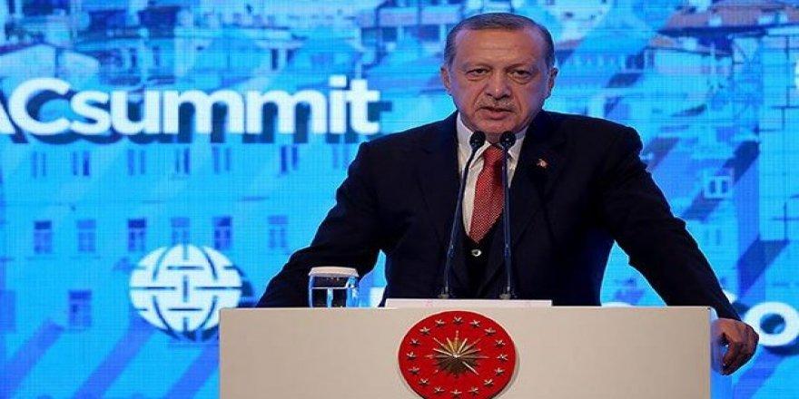 Cumhurbaşkanı Erdoğan YPG'yi hedef aldı