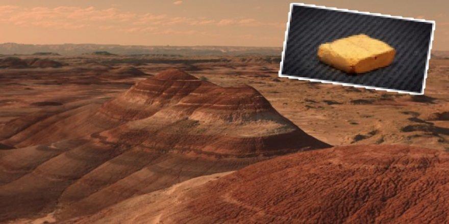 Mars toprağından ilk tuğla yapıldı !