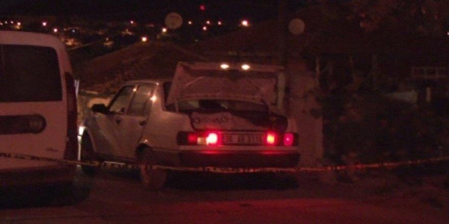 Başkent'te polise silahlı saldırı: 1 polis yaralı