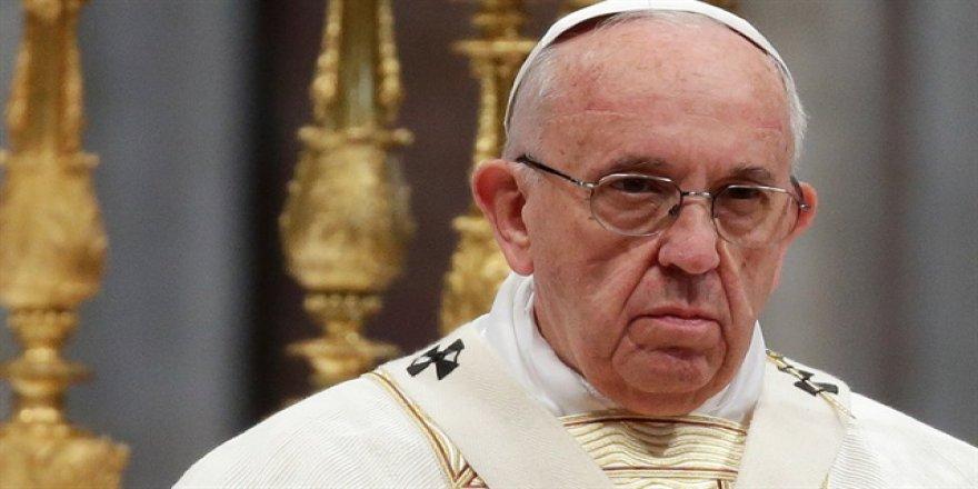 Papa'dan ABD'ye tepki