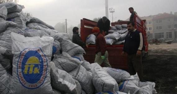 4 bin aileye kömür yardımı!