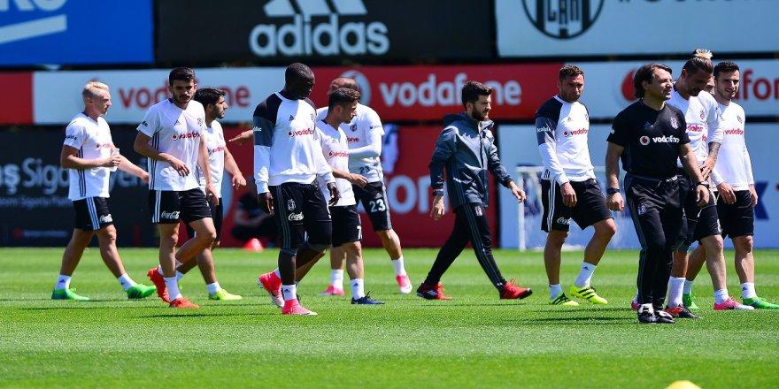 Beşiktaş idmanında sevindirici haber