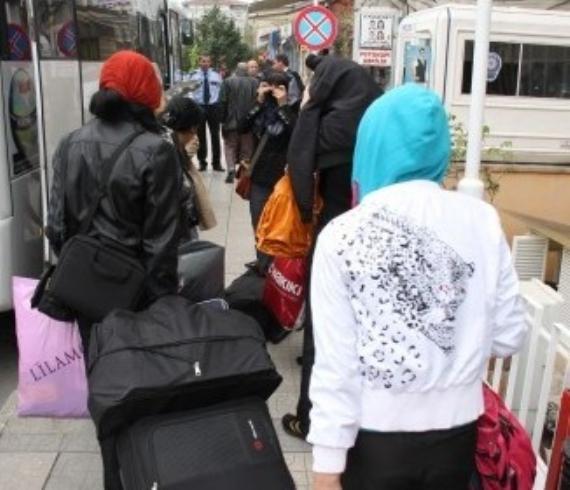 3 kadın sınırdışı edildi!