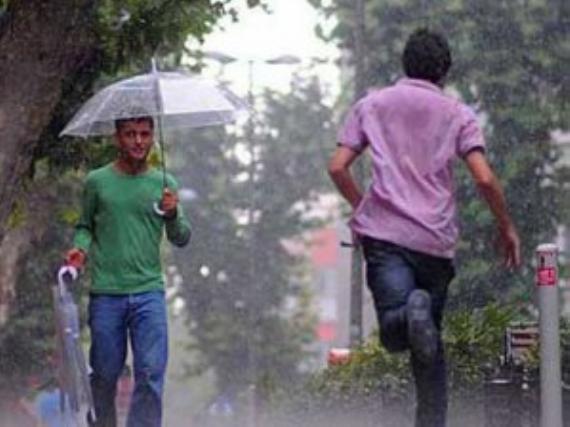 Bugün yağış geliyor!