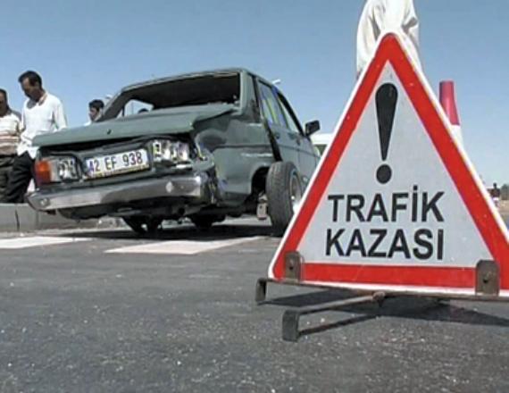 Gebze'de motorsiklet kazası!