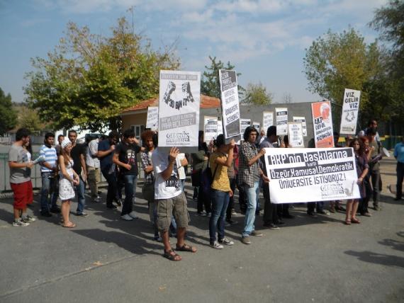 Eylemci öğrencilere 10 bin TL ceza!