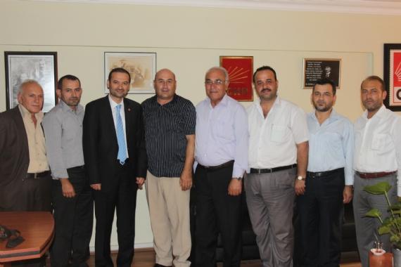 Saadet Partisi'nden CHP'ye ziyaret!