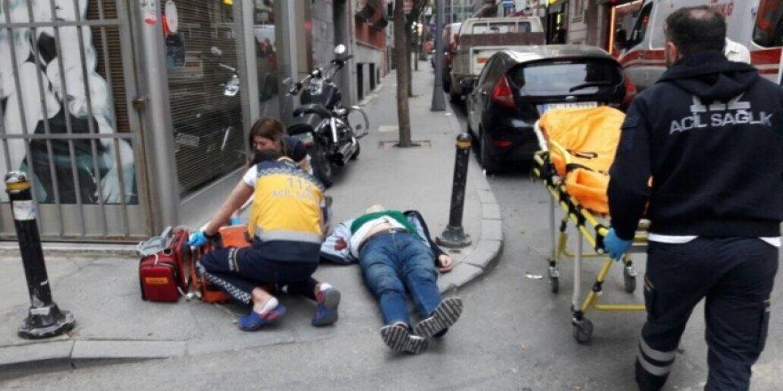 Şişli'de sokak ortasında silahlı kavga: 1 yaralı