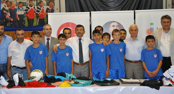 Darıca'da amatör spora destek!