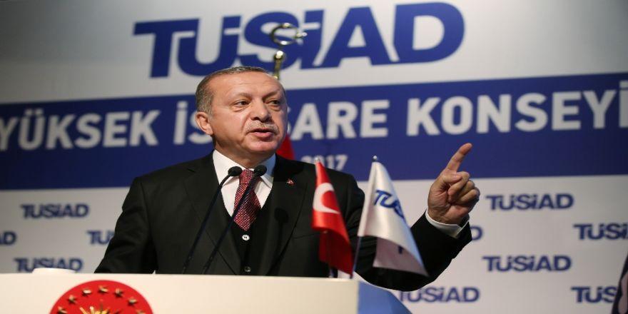 Cumhurbaşkanı Erdoğan'dan Ab Ve Ohal Açıklaması
