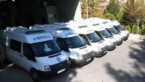 Ücretsiz cenaze hizmetine 6 yeni araç!