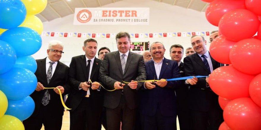 Sancaktepe Belediyesi'nden Kardeş Şehir Gornji Vakuf'a Spor Salonu