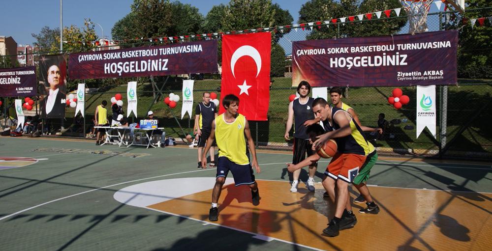 Çayırova'da Sokak Basketbolu heyecanı!