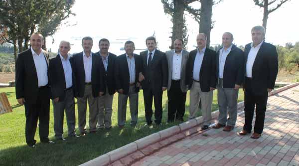 AK Partililer Eskihisar'da buluştu!