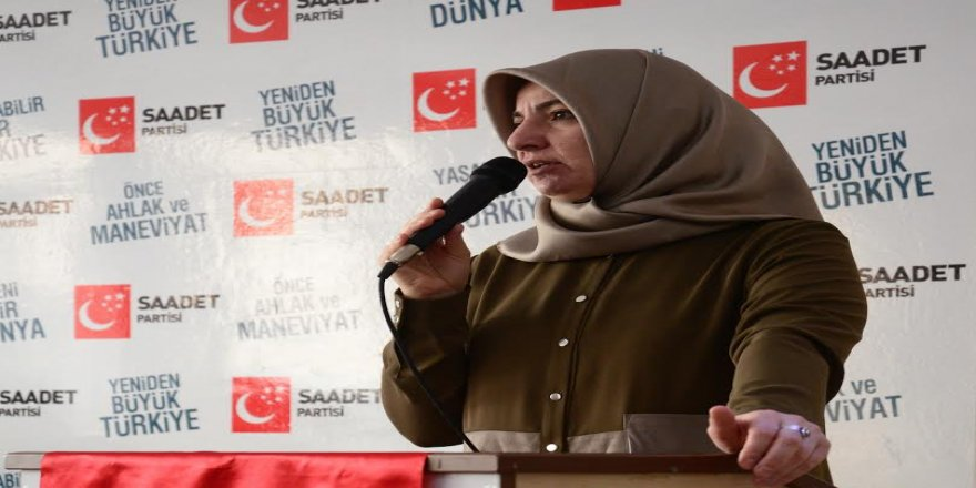 Saadet Partisi İl Kadın Kolları Divanı gerçekleştirdi