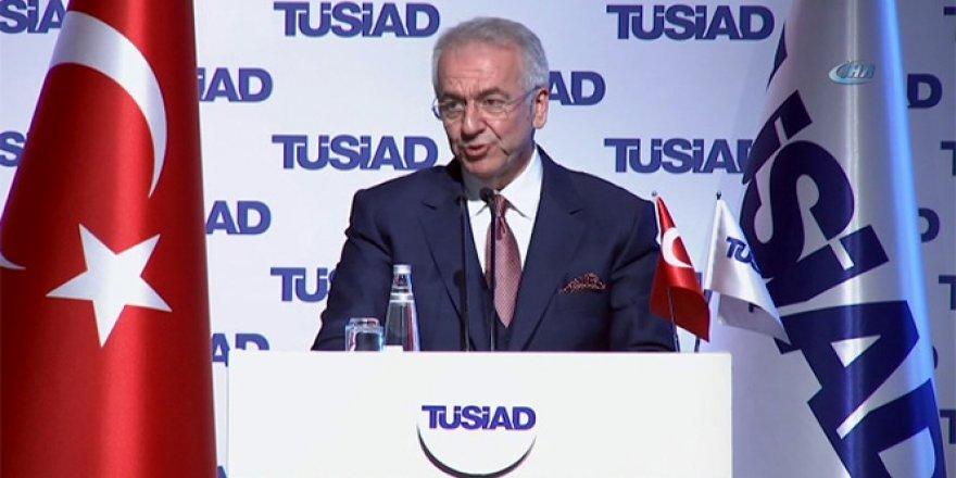 """TÜSİAD Başkanı """"OHAL'in bir daha uzatılmayacağını umuyoruz"""""""