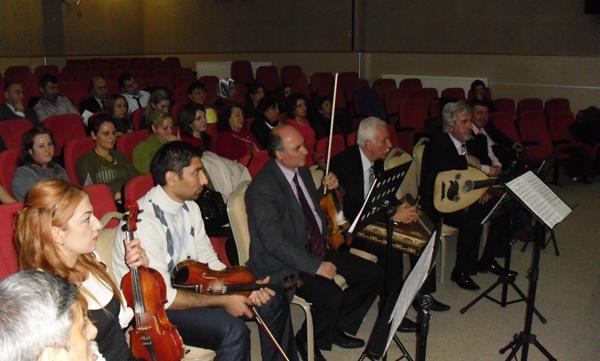 Türk Sanat Müziği Korosu çalışmalarına başladı!