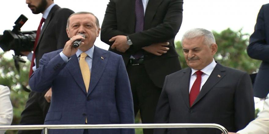 Cumhurbaşkanı Erdoğan Ve Başbakan Yıldırım Ankara Arena'da