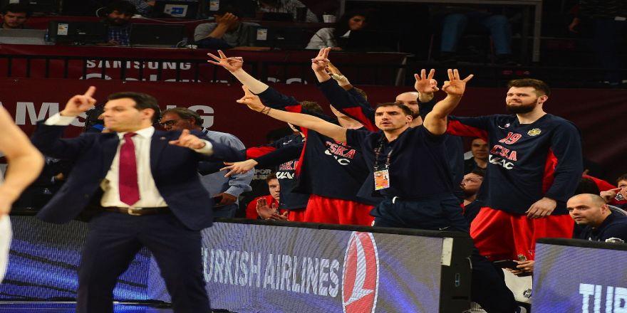 Cska Moskova, Thy Euroleague'de 6. Kez Üçüncü Oldu
