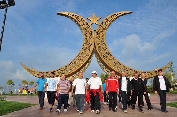 Darıca'da sağlıklı yaşam yürüyüşleri başladı!