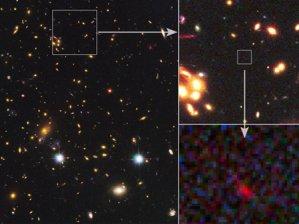 En uzak galaksi görüntülendi!