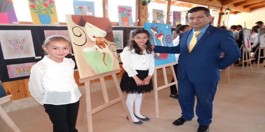 Gölpazarı Gazimihal Ortaokulu'ndan Resim Sergisi