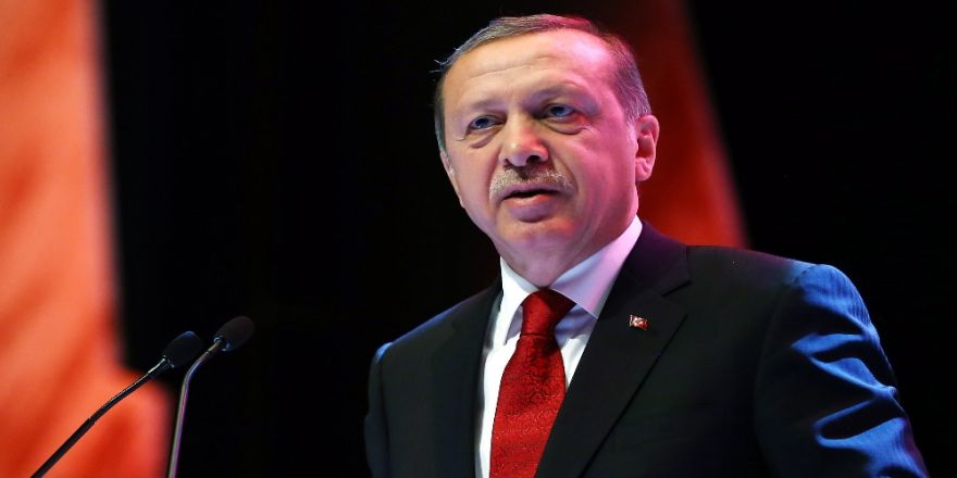 Cumhurbaşkanı Erdoğan Carl Bildt'i Kabul Etti