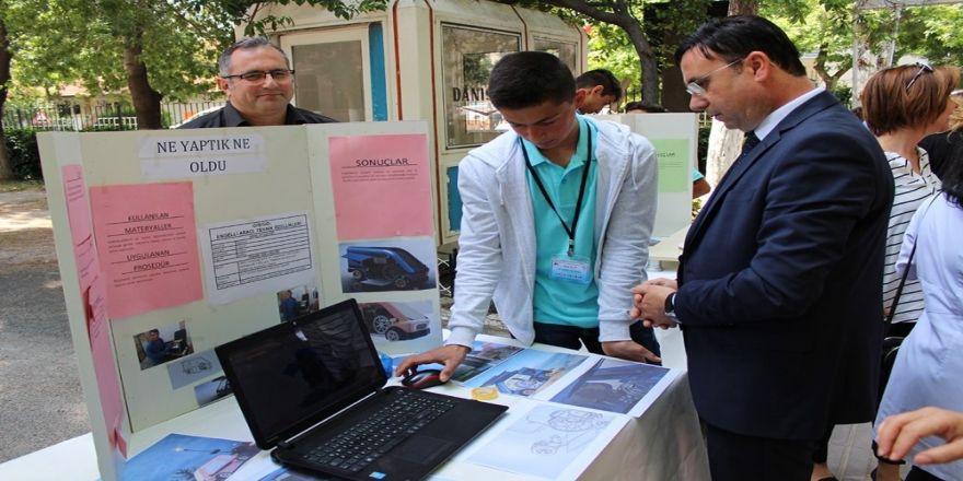 Afad İl Müdürü Yılmaz, Tubitak 4006 Bilim Fuarı'nın Açılış Törenine Katıldı