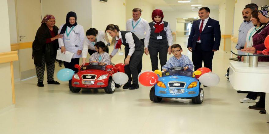 Şehir Hastanesinde Çocuklara Özel Uygulama