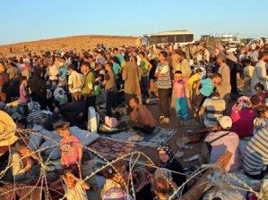 527 Suriyeli Türkiye'ye sığındı!
