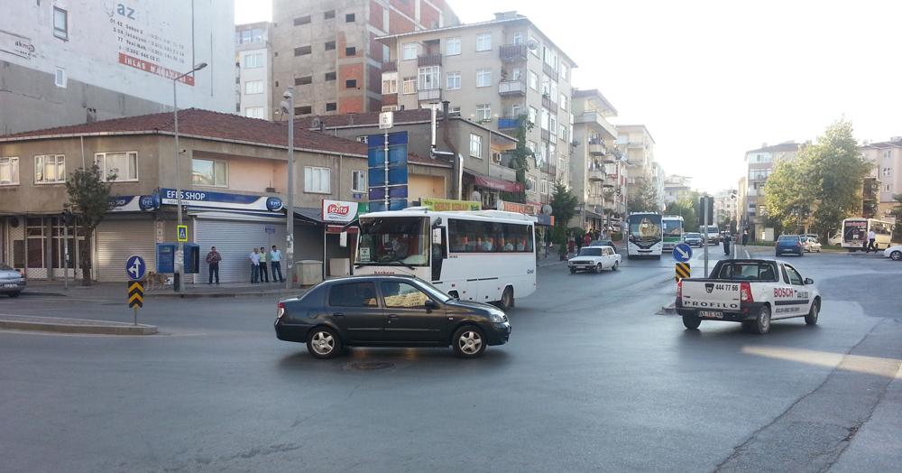Gebze'de trafik kaosu!