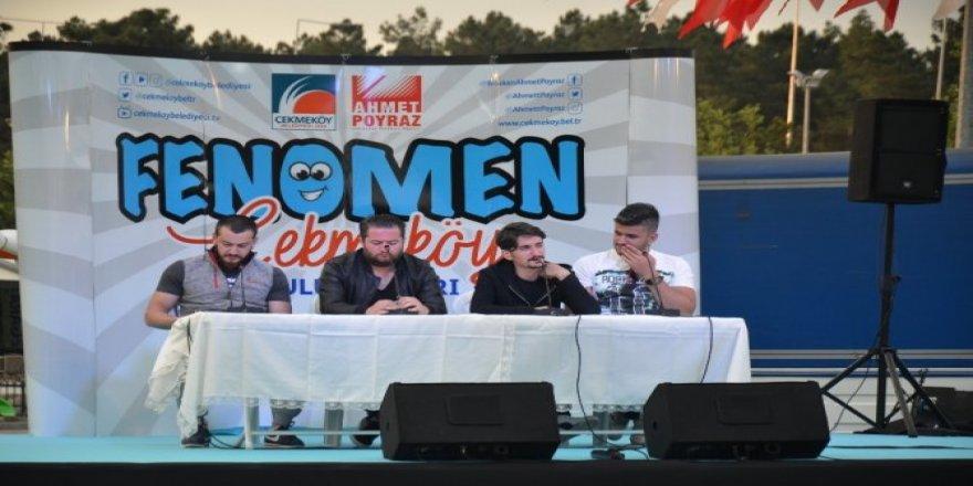 İnternet Fenomenleri Çekmeköy'de Gençlerle Buluştu