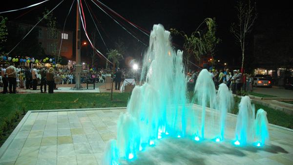 Meydan Parkı törenle açıldı!