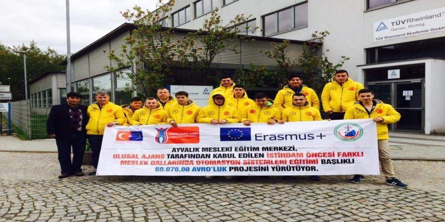 Aymesem'li Çıraklar Avrupa'da