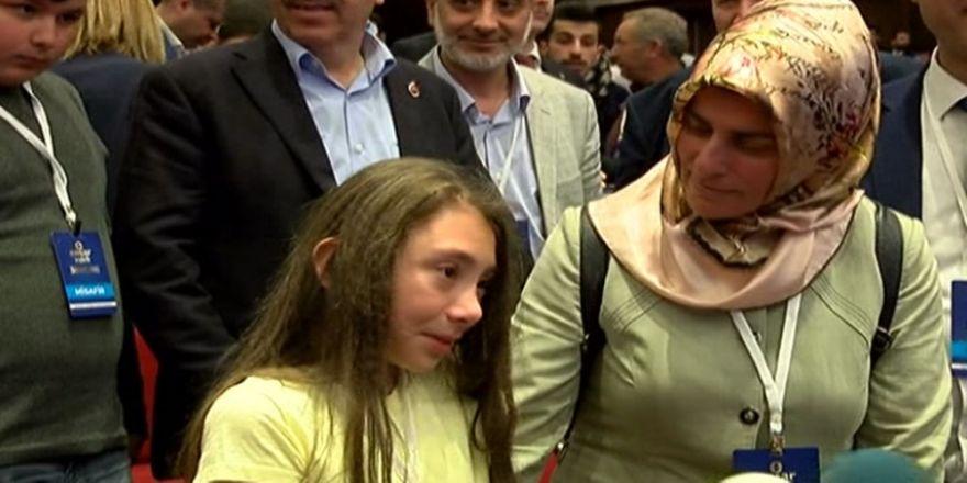 Cumhurbaşkanı Erdoğan'ı Görmek İçin Dakikalarca Ağladı