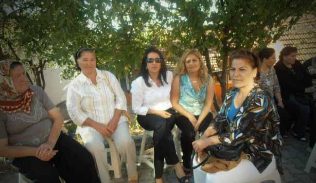 CHP'li kadınlar çalışıyor!