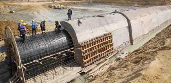 Namazgâh Barajı'nda ikinci aşamaya geçiliyor