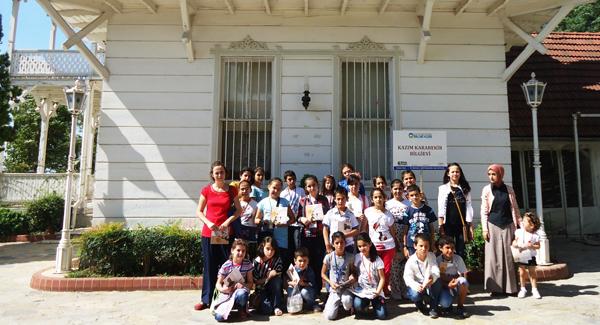 Bilgievi öğrencileri Osman Hamdi Bey'i gezdi!