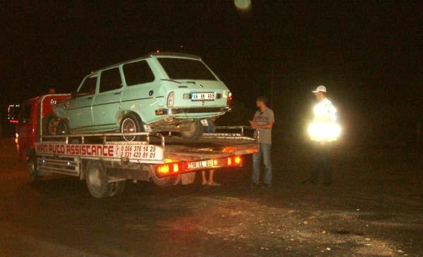 İki otomobil çarpıştı: 1 yaralı!