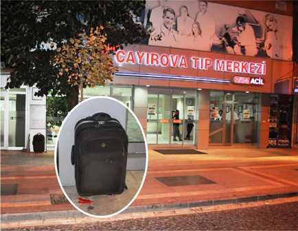 Çayırova'da şüpheli çanta paniği!