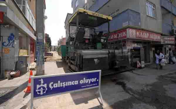 Darıca'da asfalt çalışmaları sürüyor!