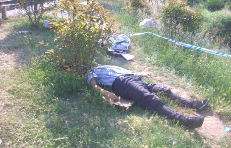 Yol kenarında ceset bulundu!