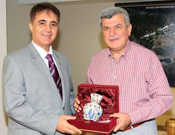 Başkan'a Cantürk'ten veda ziyareti!