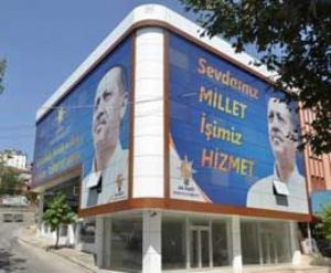AKP Dilovası'na görkemli bina!