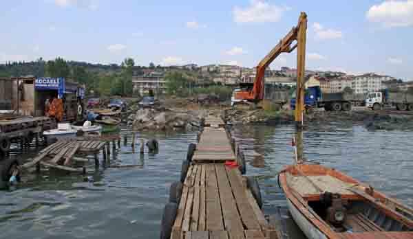 Kamboçya sahili temizleniyor!