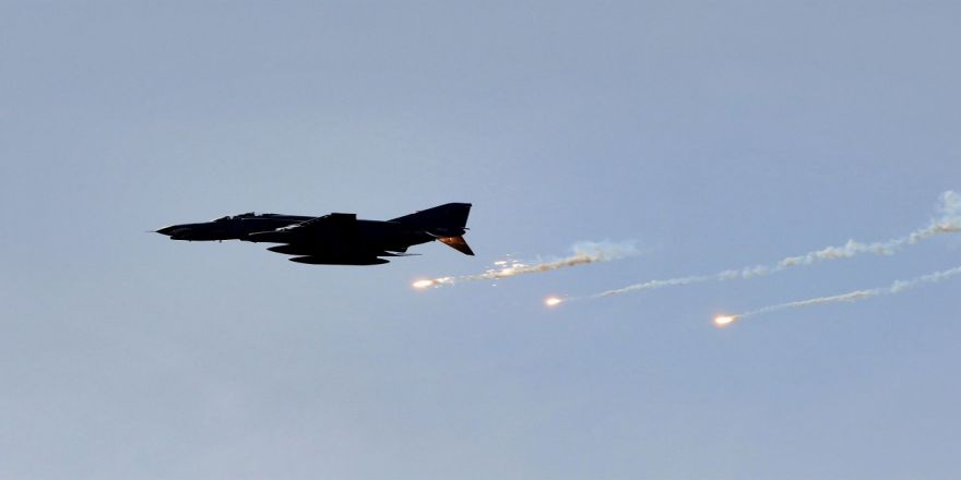 Pkk'ya Hava Harekatı: 9 Terörist Etkisiz Hale Getirildi