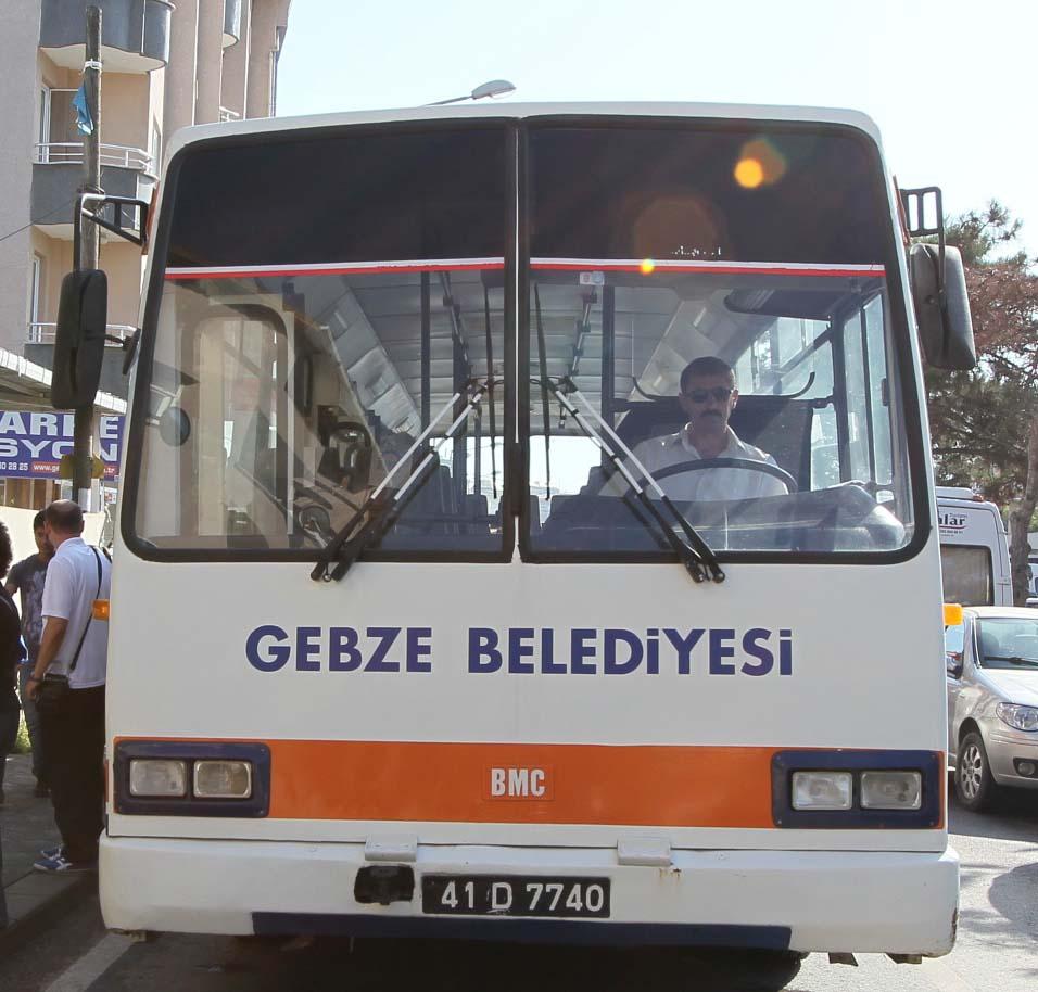 Gebze'de mezarlıklara ücretsiz ulaşım !