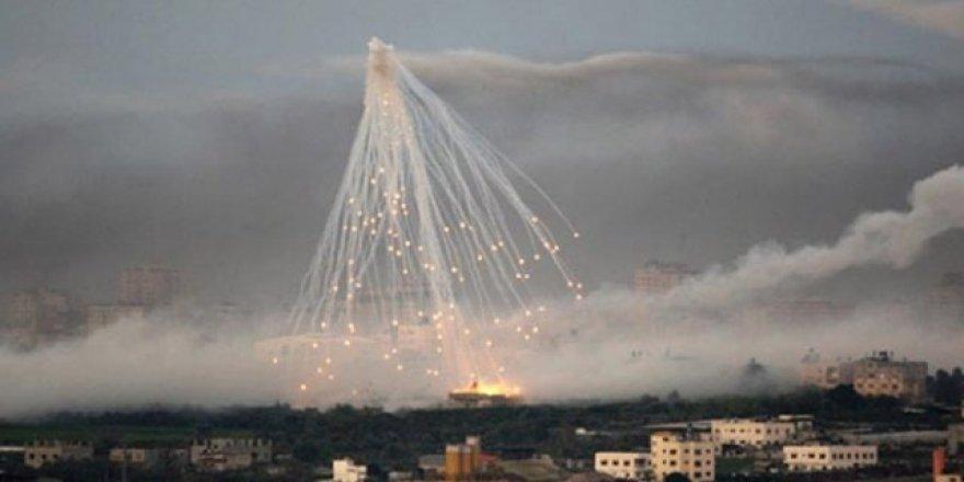 ABD, Irak ve Suriye'de fosfor bombası kullanıyor!