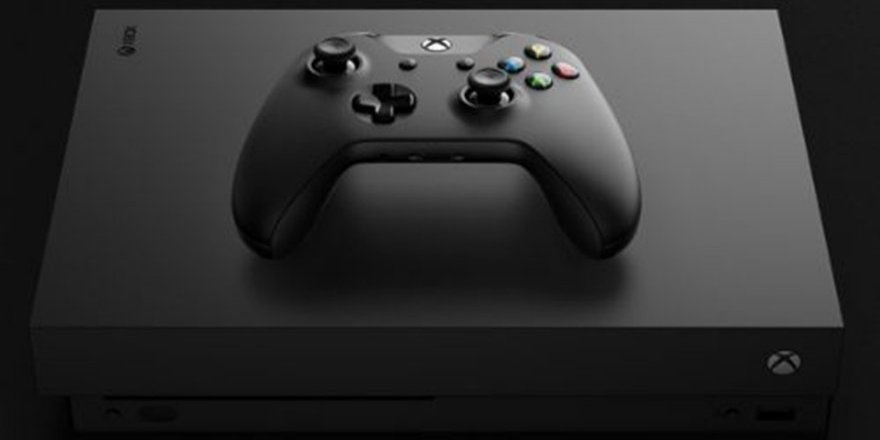 Microsoft Xbox One X'i tanıttı